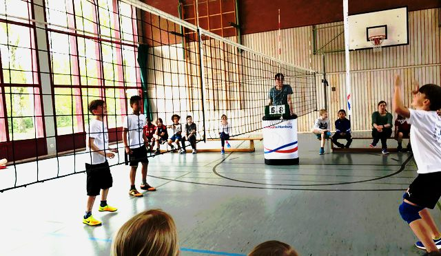 Volleyball Grundschul-Cup