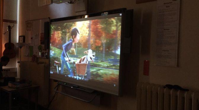 CINE – las clases biligües visitan el colegio Lutterothstraße