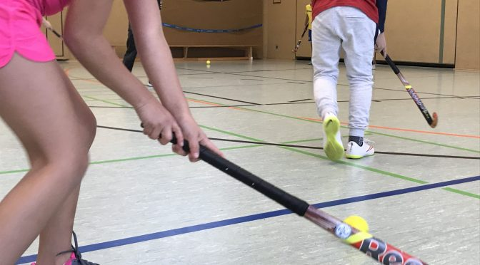Hockeyschnupperstunden mit dem MTHC