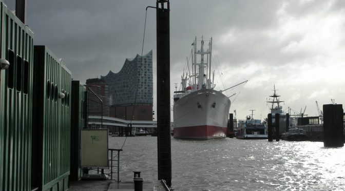 Ausflug der 1a zum Hafen