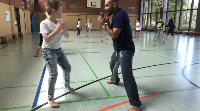 Capoeira in Jahrgang 3