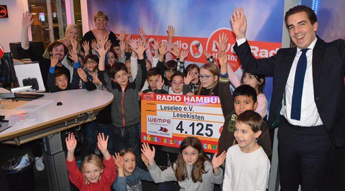 Mit Leseleo zu Radio Hamburg