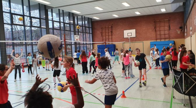 Volleyball Cup Klasse 3+4