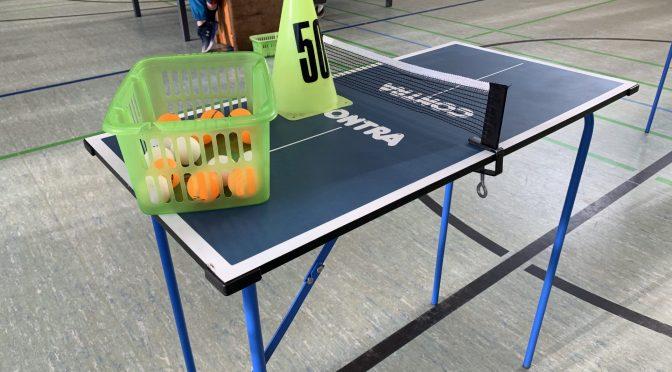 Tischtennis an der Wielandstraße: 4. Klassen
