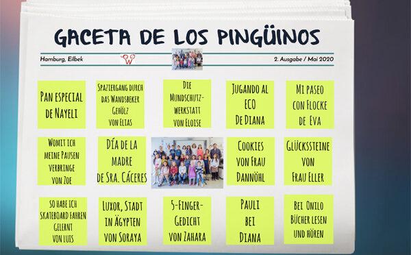 """Digitale Klassenzeitung """"GACETA DE LOS PINGÜINOS"""""""
